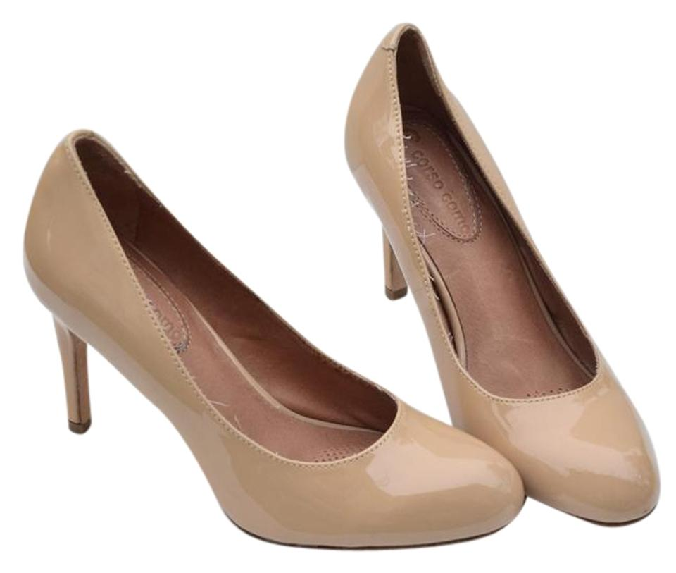 df040a288cb Corso Como Nude Patent Leather Pumps. Size  US 6 Regular (M ...
