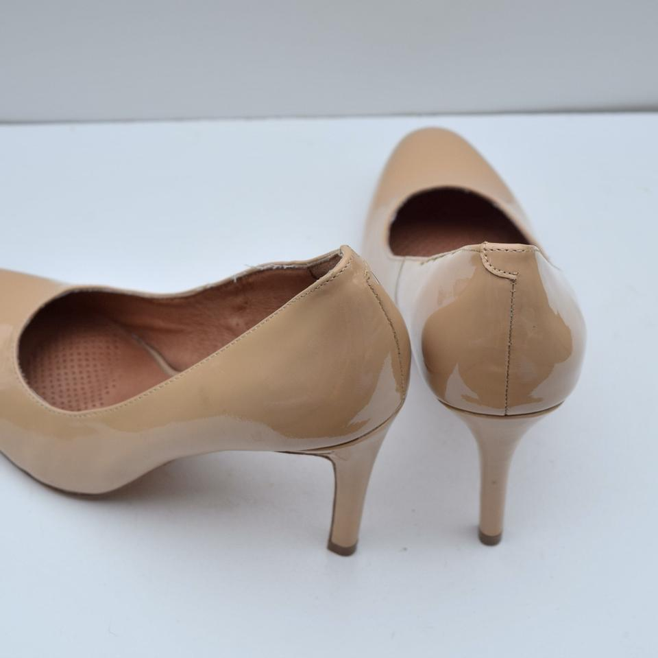 0e9ecc6d002 Corso Como Nude Patent Leather Pumps Size US 6 Regular (M