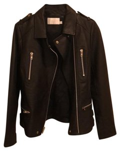 Walter by Walter Baker black Leather Jacket