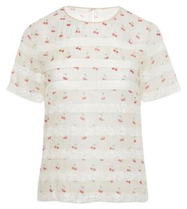 Marc by Marc Jacobs Top off white multi