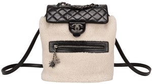 Chanel Rare Limited Edition Shearling Backpack