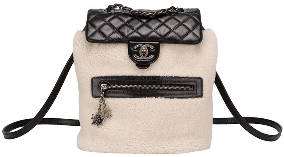 a827b4f3513c Chanel Paris-salzburg Mountain Limited Edition Black Shearling and ...
