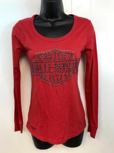 cb236aeb80433 Red Harley Davidson Tops - Up to 70% off a Tradesy