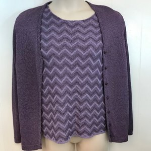 French Rags Knit Twinset Cardigan