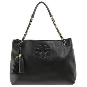 Tory Burch Thea Slouchy Chain Thea Tote in Black