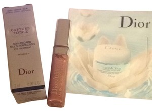 Dior 3 Pieces Dior Addict Ultra Lip Gloss Capture Eye & Hydraction Eye