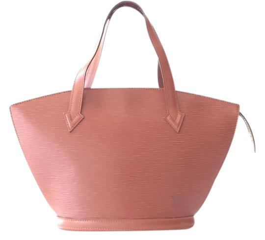 Preload https://item2.tradesy.com/images/louis-vuitton-st-jaques-pm-light-brown-epi-tote-2236721-0-2.jpg?width=440&height=440