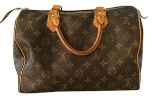 Louis Vuitton Satchel in Brown Monogrammed