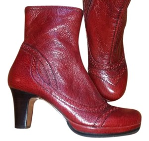 Chie Mihara Leather Ankle rust Boots
