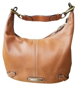 Cole Haan Pebbled Leather Hobo Bag