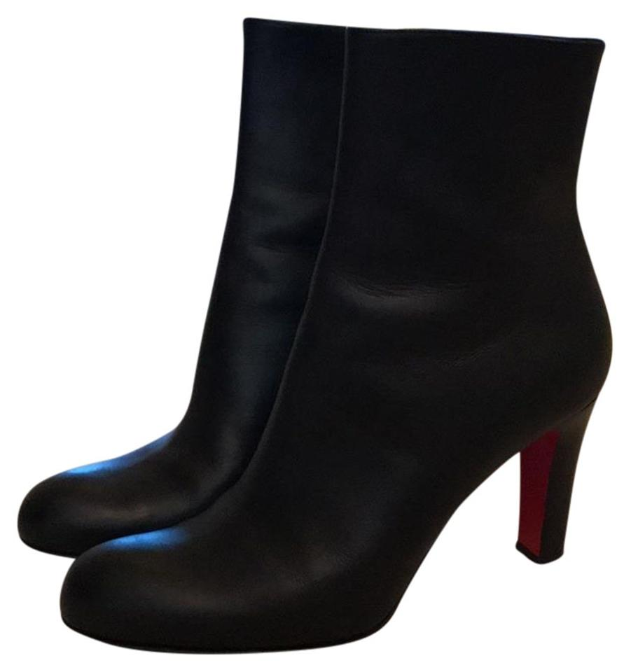 b5496fe00df Christian Louboutin Black Miss Tack Ankle 85 Boots/Booties Size EU 40  (Approx. US 10) Regular (M, B) 56% off retail