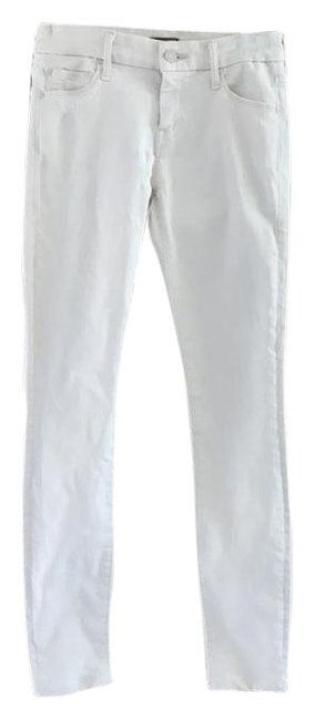 Item - Off White Distressed 1001-188 The Looker Skinny Jeans Size 25 (2, XS)