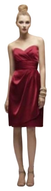 Item - Red Lr 168 Short Night Out Dress Size 12 (L)