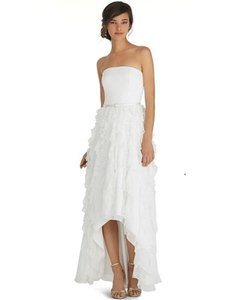 White House Black Market Silk Crepe Whbm Waterfall High Low Gown Formal Wedding Dress Size 10 M Tradesy,Wedding Dresses Ball Gown Sweetheart Neckline
