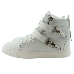 Giuseppe Zanotti Design Sneaker Men Sneakers Ski Buckle White Athletic