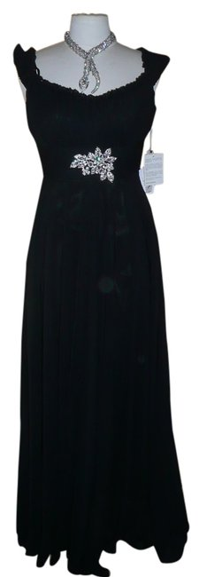 Preload https://item3.tradesy.com/images/scala-black-crystal-embellished-sexy-sophistcated-long-formal-dress-size-10-m-2236922-0-0.jpg?width=400&height=650