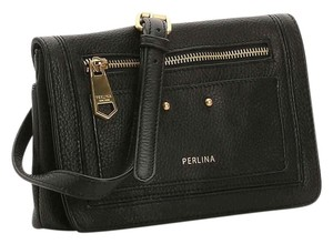 Perlina Leather Small Cross Body Bag