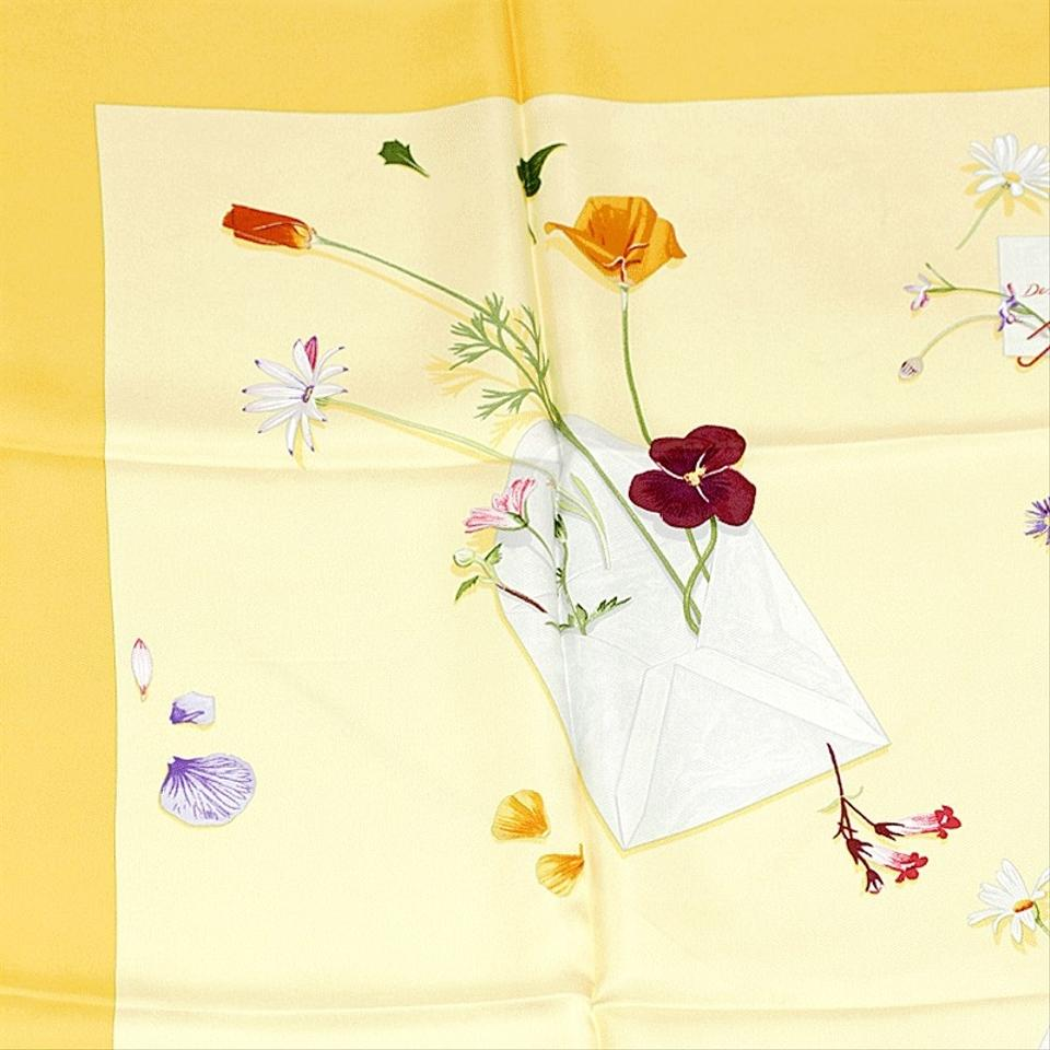 hermes paris 90cm silk scarf des fleurs pour le dire on tradesy. Black Bedroom Furniture Sets. Home Design Ideas