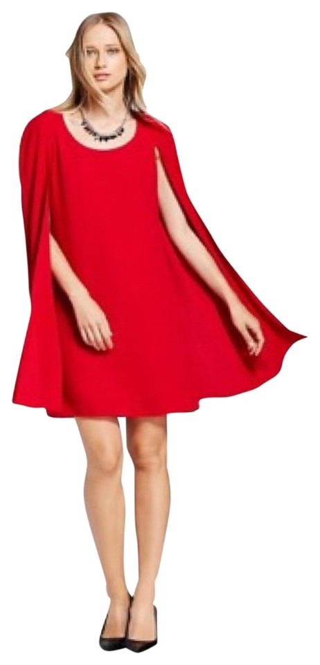 1e72578147 Nordstrom Red Wonder Woman Mid-length Cocktail Dress Size 8 (M ...
