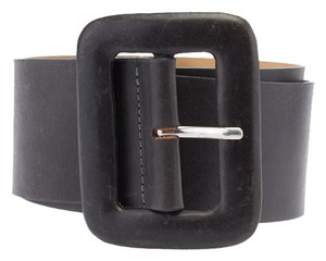 One Step Ahead Streets Ahead Women's Grey Leather Belt, Size L (3719)
