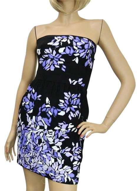 Item - Cherry W Strapless W/Plastic Flower Design 38 234672 Mid-length Night Out Dress Size 4 (S)