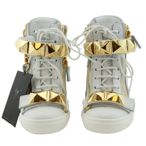 Giuseppe Zanotti Zanotti Design Wedge Sneaker Zanotti Sneaker Women Sneaker White Athletic