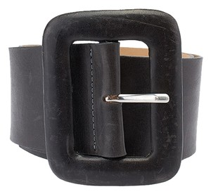 Streets Ahead Streets Ahead Women's Grey Leather Belt, Size S (3717)