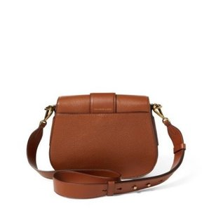 Polo Ralph Lauren Large Lennox Brown Leather Cross Body Bag - Tradesy b0d98b8ac9e59