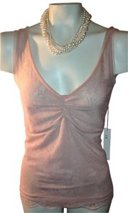 Larsen of new York Top pink/nude
