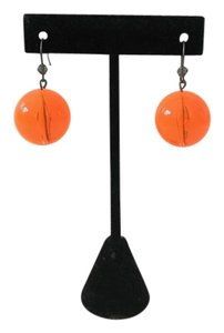 Tarina Tarantino AUTHENTIC Tarina Tarantino Lucite Ball Earrings