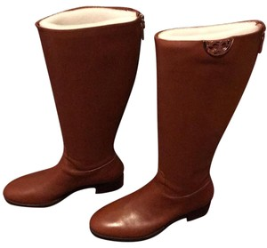Tory Burch penny brown Boots