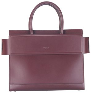Givenchy Sale New Horizon Satchel in Oxblood Red