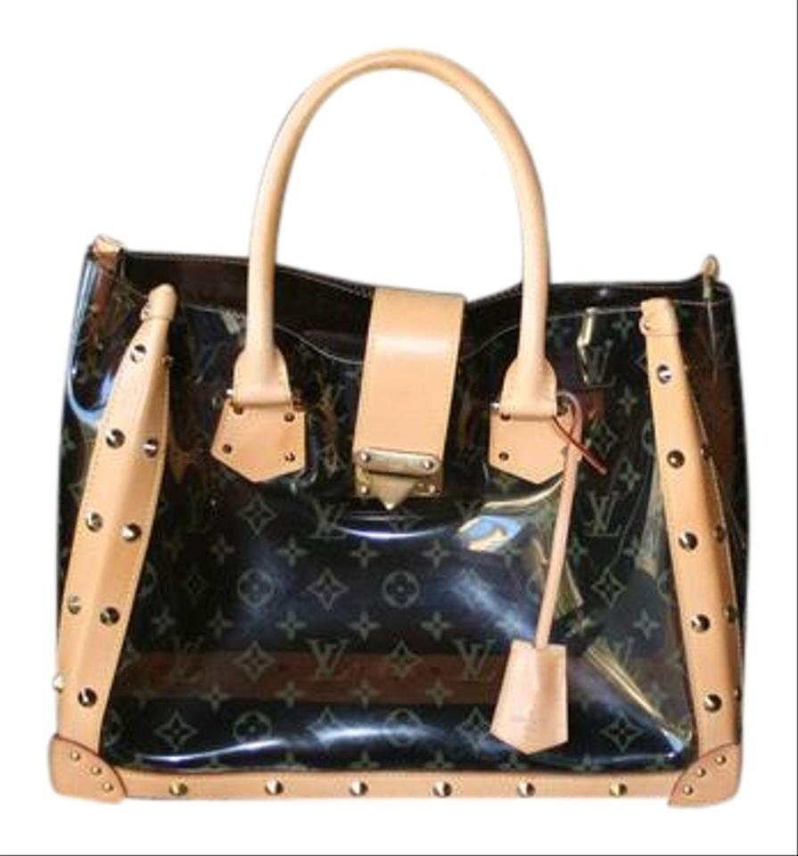 fb4727cde151 Louis Vuitton Studded Monogram Lightweight Tote in Clear Amber Image 0 ...