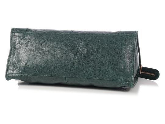 Balenciaga Bg.l0927.04 2012 Giant Rose Gold Part Time Satchel in Green