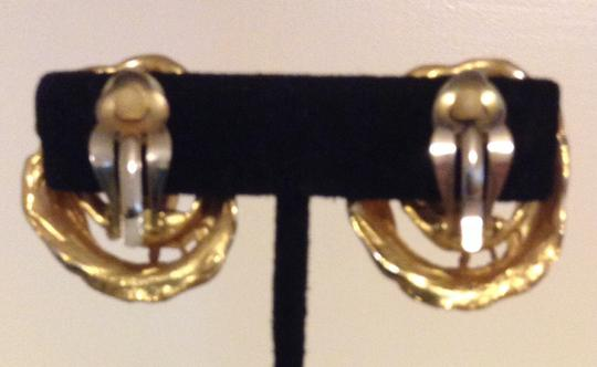 Accessory Lady Gold Clip Earrings