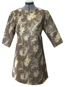 WHIT short dress Gold and silver on Tradesy
