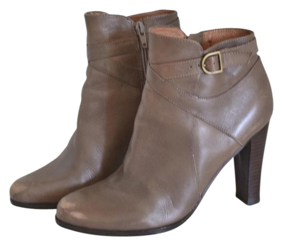 Corso Corso Corso Como Taupe Leather Ankle Boots/Booties 6d5224