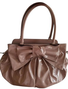 Valentino Handbag Nuteral Likenew Satchel in Nude, very light pink , Beige with the hint of pink , Blush
