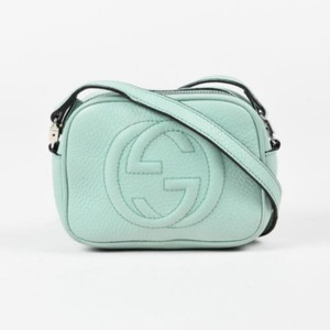 Gucci Soho Disco Messenger Web Cross Body Bag