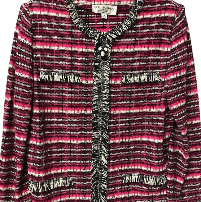 Item - Pink Multi Collection By Marie Gray Blazer Size 12 (L)