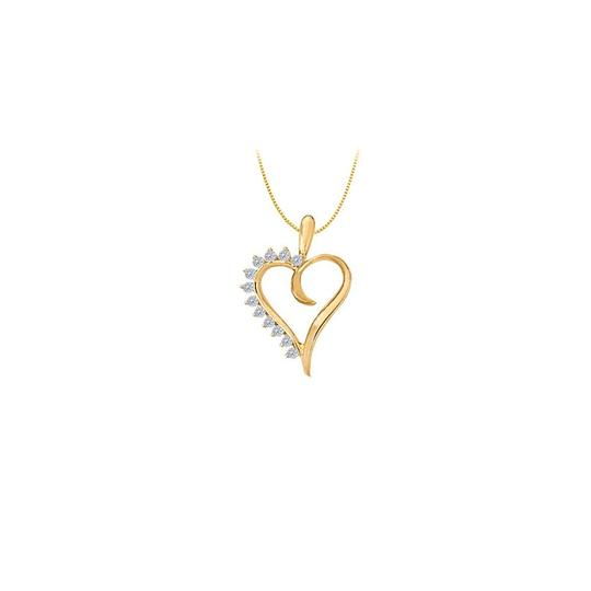 Preload https://img-static.tradesy.com/item/22372457/white-yellow-april-birthstone-cz-heart-pendant-sterling-silver-with-gold-necklace-0-1-540-540.jpg