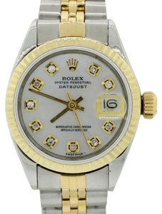 Rolex Rolex DateJust 26mm 6917 18k Yellow Gold Steel Diamond MOP Watch w/Box