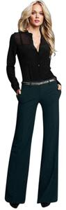 Three Dots Flare Trouser Career Work Trouser Pants black