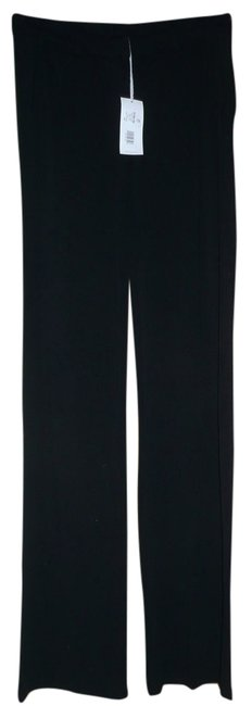 Three Dots Flare Career Work Ponte Trouser Pants black
