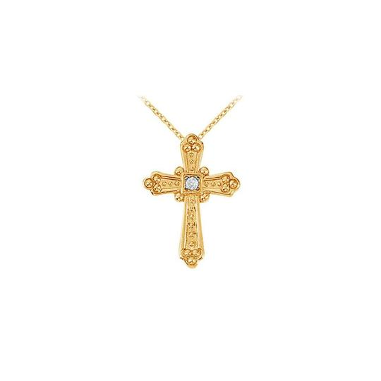 Preload https://img-static.tradesy.com/item/22372812/white-yellow-april-birthstone-cubic-zirconia-cross-pendant-in-silver-gold-vermeil-necklace-0-0-540-540.jpg