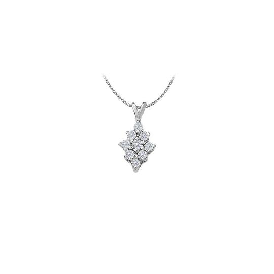 Preload https://img-static.tradesy.com/item/22373069/white-silver-cubic-zirconia-fashion-pendant-in-sterling-050-ct-tgw-perfect-necklace-0-0-540-540.jpg