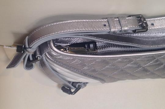 Burberry Like New Leather Nylon Uette Shoulder Bag
