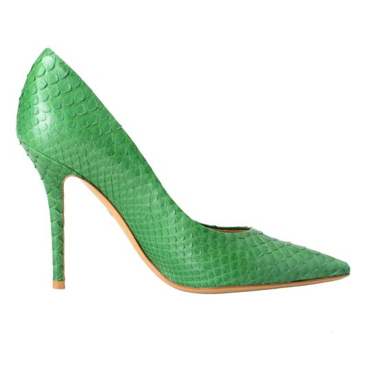 Salvatore Ferragamo Green Pumps Image 2