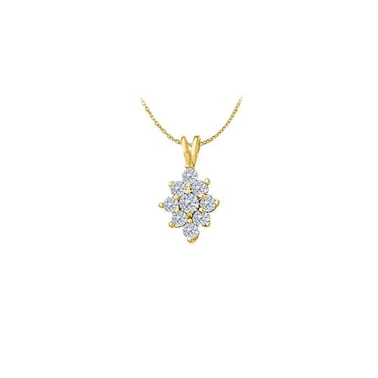 Preload https://img-static.tradesy.com/item/22373183/white-yellow-cute-cubic-zirconia-flower-pendant-in-silver-gold-vermeil-necklace-0-0-540-540.jpg