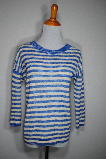J.Crew Striped Summer Nautical Sweater
